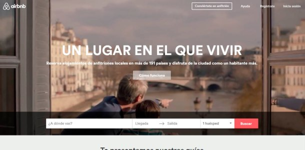 Virginia Duran Blog- 12 Beautiful Websites With Video Backgrounds- AirBNB