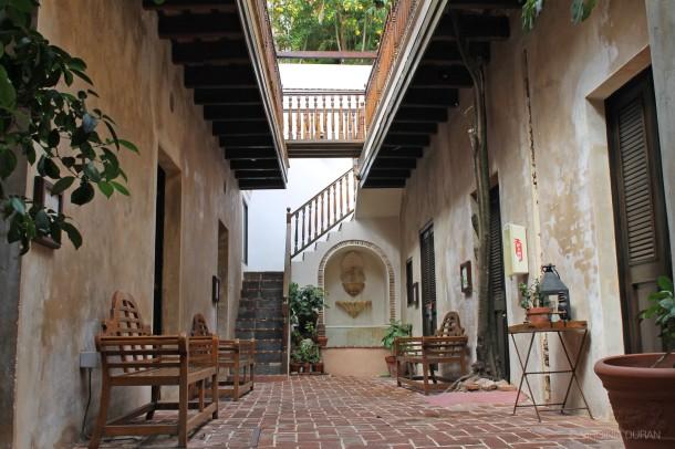 Virginia Duran Blog- San Juan Puerto Rico Architecture-Hotel Villa Herencia Patio