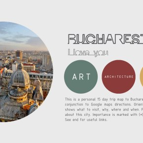 The Free Architecture Guide of Bucharest(PDF)
