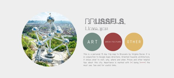 Brussels Architecture Guide PDF
