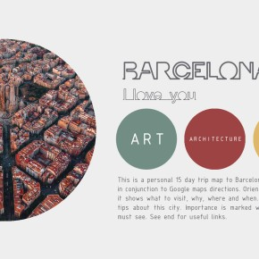 The Free Architecture Guide of Barcelona(PDF)
