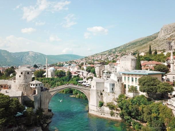 Mostar, Bosnia & Herzegovina, Stari Most Bridge