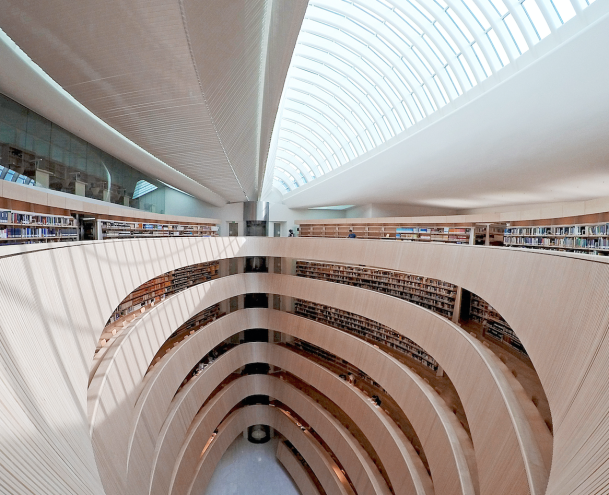 Law Library by Santiago Calatrava (Virginia Duran)