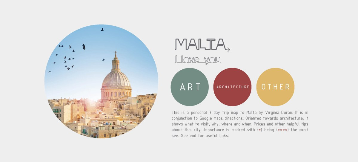 The Free Architecture Guide of Malta (PDF)