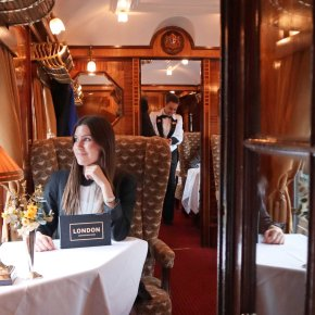 Traveling back in time: Aboard the luxurious Belmond British Pullman train