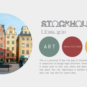 The Free Architecture Guide of Stockholm(PDF)