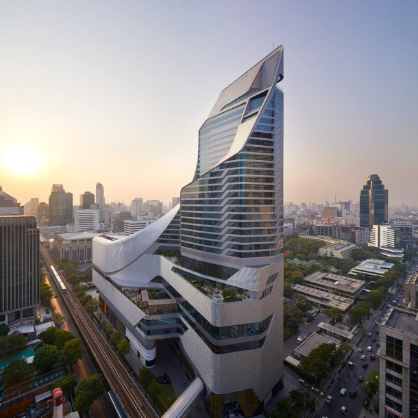 Central Embassy in Bangkok by AL_A Bangkok