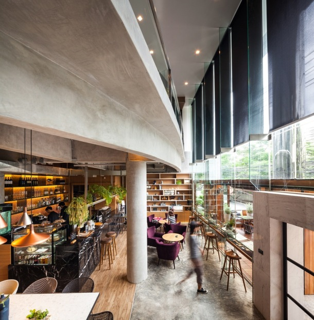Storyline Cafe Bangkok by Junsekino Architect And Design