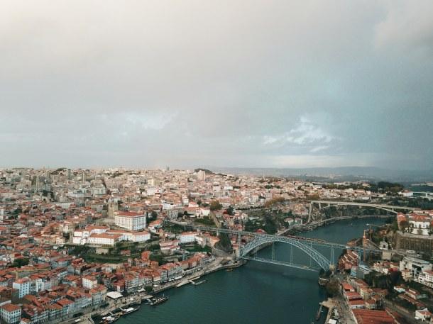 Porto Drone Photo by Virginia Duran
