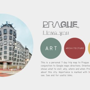 The Free Architecture Guide of Prague(PDF)