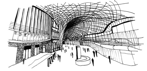 King Cross Station London