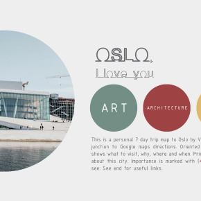 The Free Architecture Guide of Oslo (PDF)