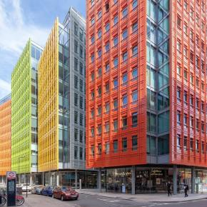 12 Colourful Buildings Brightening Up London