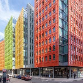 12 Colourful Buildings Brightening UpLondon